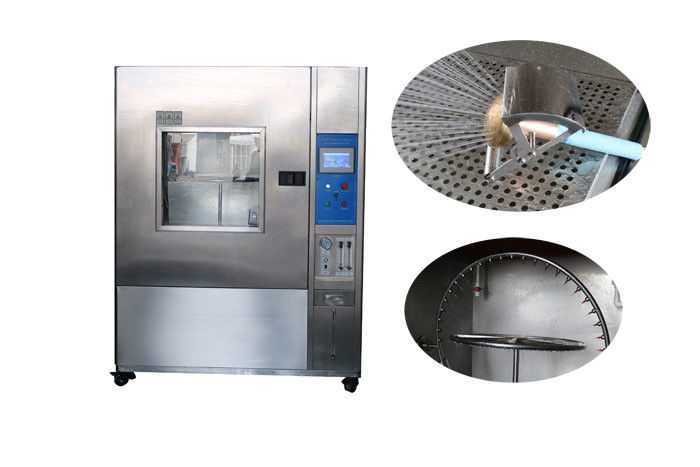 IP Code Waterproof IPX2 IPX3 IPX4 Rain Test Chamber For Electrical Products IEC 60529