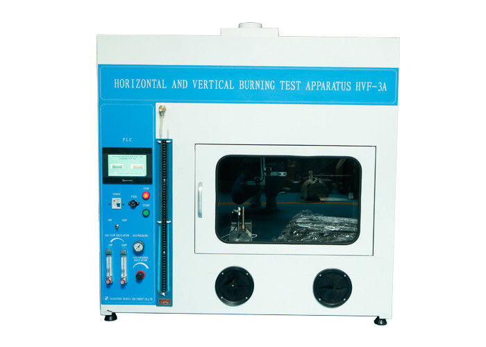 Flammability Testing Equipment Horizontal Vertical Flame Tester For Fire Hazard Testing